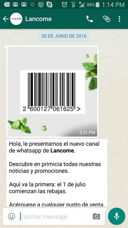 Lancome, El Corte Inglés